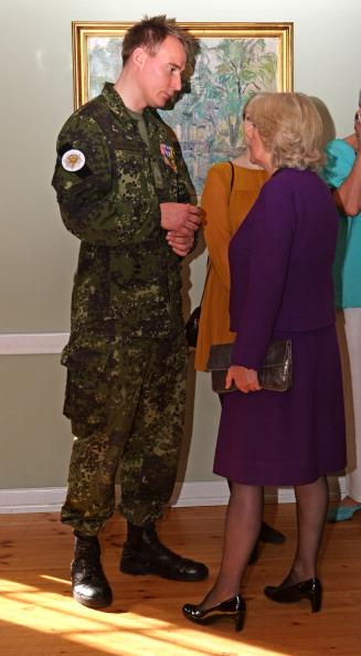 Камилла и принц Чарльз в Копенгагене посетили национальный мемориал и пообщались с ветеранами на приеме в Kastellet Northern Depot.. Фоторепортаж. Фото: Chris Jackson - Pool/Getty Images