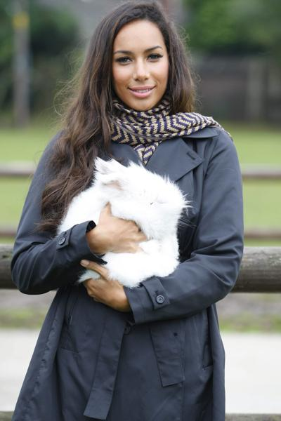 Леона Льюис на мероприятии по сбору средств для приюта животных The Hopefield. Фото с сайта  starer.ru