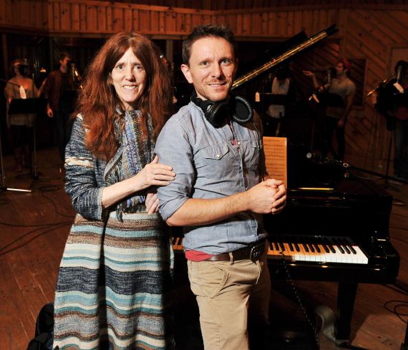 Победители кастинга La Mama Cantata в студии звукозаписи в  Нью-Йорке. Фоторепортаж. Фото:  Stephen Lovekin/Getty Images