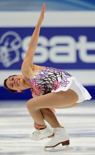 ЧМ по фигурному катанию. В «Мегаспорте» закончились квалификационные соревнования женщин.  Фото:  ALEXANDER NEMENOV/YURI KADOBNOV/AFP/Getty Images
