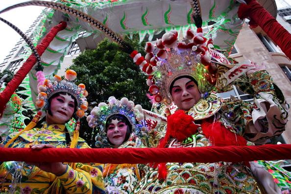 Парад в честь китайского Нового года в  Сиднее. Фоторепортаж. Фото: Lisa Maree Williams/Getty Images