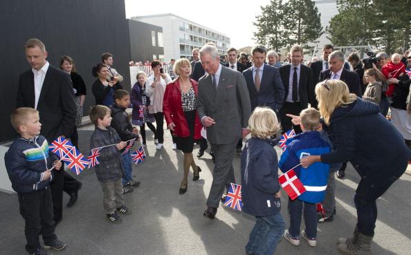 Принца Чарльза в Gyldenrisparken приветствовали местные жители. Фоторепортаж. Фото: Chris Jackson / Getty Images