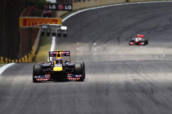 «Формула-1». Гран-при Бразилии выиграл Марк Уэббер. Фоторепортаж из Сан-Паулу. Фото: Mark Thompson/Getty Images