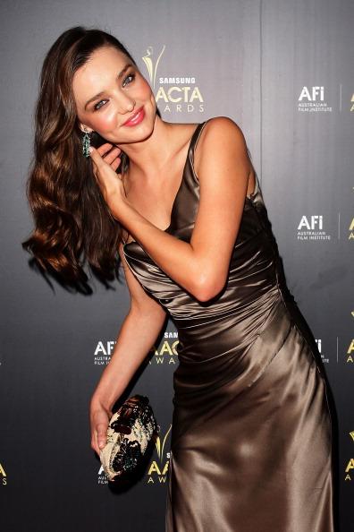 Знаменитости на церемонии награждения AACTA в Сиднее. Миранда Керр (Miranda Kerr). Фоторепортаж. Фото: Lisa Maree Williams/Getty Images