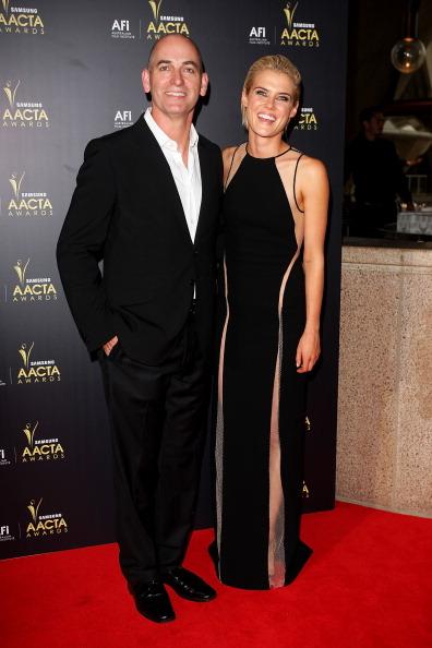 Знаменитости на церемонии награждения AACTA в Сиднее. Рэйчел Теллор (Rachael Taylor) и Роб Стич (Rob Stich). Фоторепортаж. Фото: Lisa Maree Williams/Getty Images