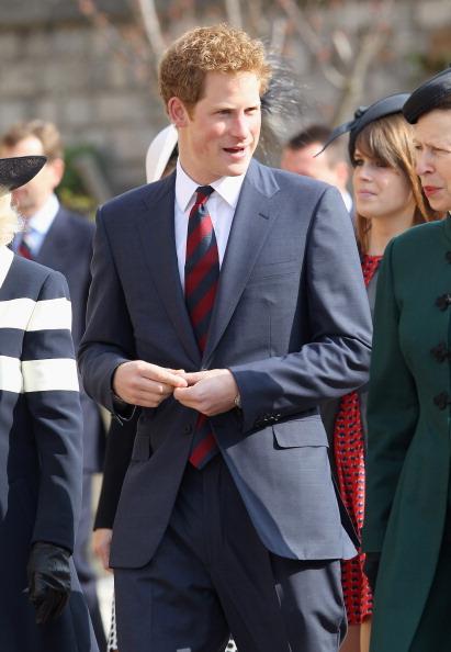 Принц Гарри участвовал  в благодарственном молебне в виндзорской часовне Святого Георгия. Фоторепортаж. Фото: Chris Jackson-WPA Pool / Getty Images