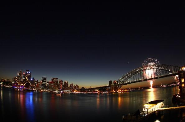 Новый год  наступил в Австралии.  Фоторепортаж. Фото: Ryan Pierse/Getty Images