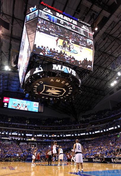 «Даллас Маверикс» проиграл  «Майами Хит» третий матч финальной серии плей-офф чемпионата НБА. Фоторепортаж с матча. Фото: Mike Ehrmann/ Ronald Martinez/Getty Images