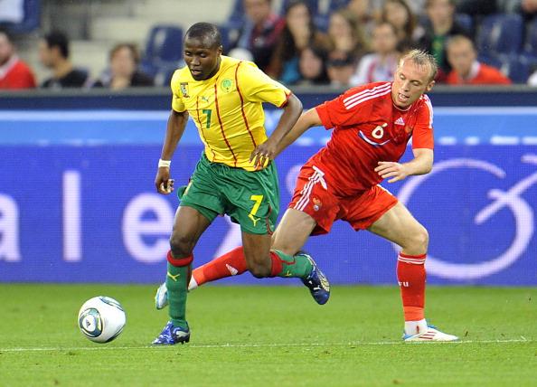 Товарищеский футбольный матч Россия -  Камерун сыгран в нулевую ничью. Фото: Wildbild/AFP/Getty Images