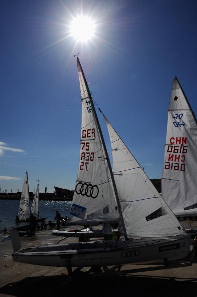 Лондон 2012. Золотая регата Skandia Sail в Английской парусной академии. Фото: Clive Mason/Getty Images