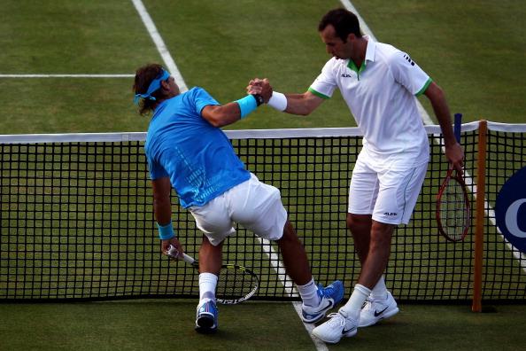 Рафаэль Надаль выиграл матч третьего круга у Радека Штепанека. Фото: Clive Brunskill/Michael Regan/Getty Images