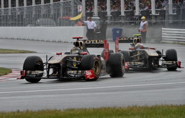 На Гран-при Канады Виталий Петров порадовал Россиян. Фото: NICHOLAS KAMM/AFP/Getty Images