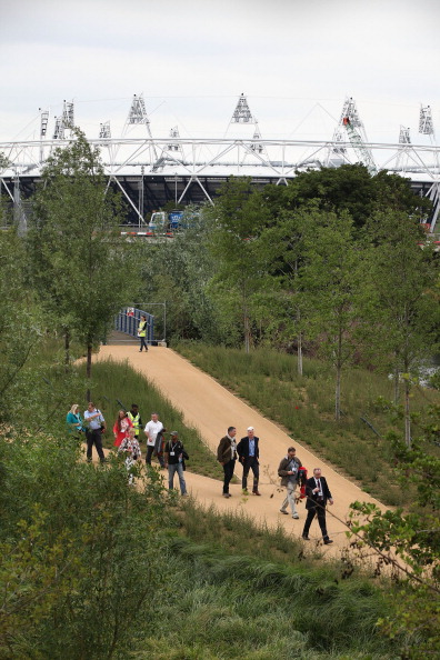 Фоторепортаж из  Олимпийского парка «Лондон-2012». Фото:  Macdiarmid/Getty Images