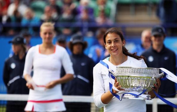 Марион Бартоли – теннисистка из Франции выиграла турнир AEGON International. Фото:  Michael Regan/Bryn Lennon/GLYN KIRK/AFP/Getty Images