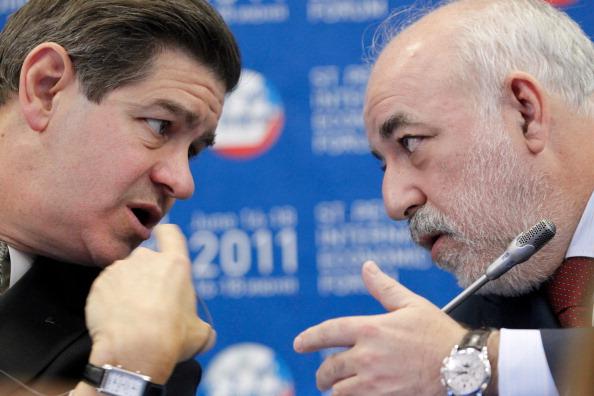 Фоторепортаж с  XV Международного экономического форума в Санкт-Петербурге.  Фото: Alexander Aleshkin/Epsilon/Getty Images