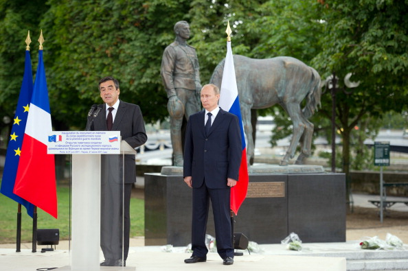 Памятник русским солдатам в париже