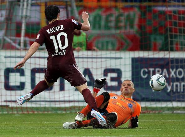 Фоторепортаж с матча: «Рубин» выиграл у «Волги» со счетом 2:0. Фото: Roman Kruchinin/Epsilon/Getty Images