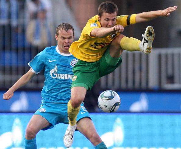 Фоторепортаж с матча: «Зенит»  выиграл у «Кубани» со счетом 1:0. Фото: Kirill Kudryavtsev/Epsilon/Getty Images