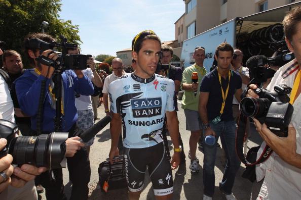 Фоторепортаж  о подготовке к велогонке Tour de France. Фото: Bryn Lennon/Michael Steele/PASCAL PAVANI/AFP/Getty Images