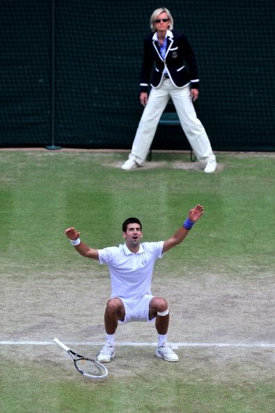 Новак Джокович стал первой ракеткой мира и поборется за титул чемпиона. Фото: Clive Mason/ Getty Images