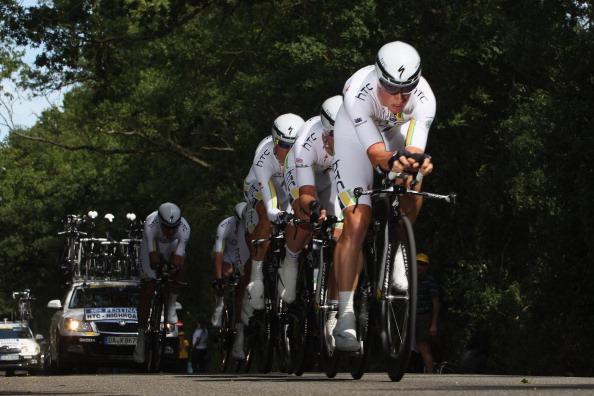 Фоторепортаж c второго этапа велогонки Tour de France. Фото:  Michael Steele/Getty Images