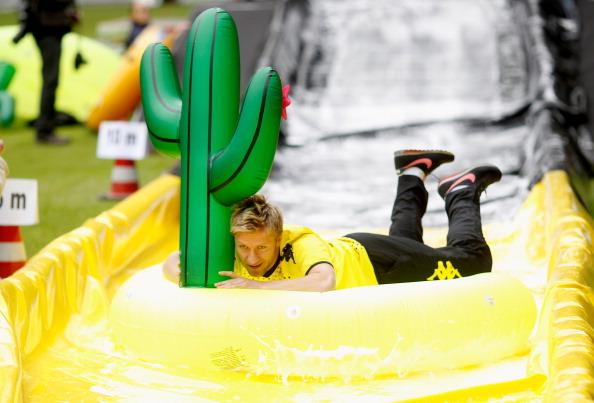 «Боруссия» в Дортмунде проводит семейный день.  Фото: Friedemann Vogel/Bongarts/Getty Images