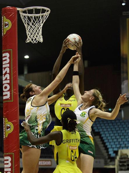 Фоторепортаж  с матча по нетболу  между командами Ямайки и Южной Африки. Фото: Suhaimi Abdullah/Getty Images