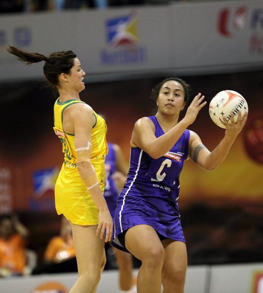 Фоторепортаж  с матча по нетболу  между командами Австралии и Самоа. Фото: Suhaimi Abdullah/Getty Images
