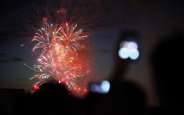 Фоторепортаж о праздновании в Нью-Йорке и Сан-Франциско  235-летия независимости США от Британии. Фото: Mario Tama/Getty Images