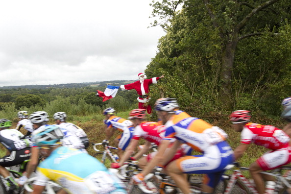 Фоторепортаж c  велогонки Tour de France четвертого  этапа. Фото:  Michael Steele/ JOEL SAGET /PASCAL PAVANI/AFP/Getty Images