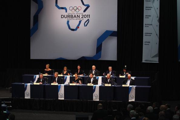 Фоторепортаж о начале проведения 123-й сессии МОК в Дурбане 123-й сессии МОК в Дурбане. Фото:  Jasper Juinen/Getty Images