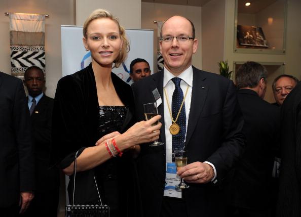 Перед открытием 123-й сессии МОК в Дурбан 5 июля прибыли принцесса Шарлин Монако и принц Монако Альберт Второй. Фото: Jasper Juinen/Getty Images