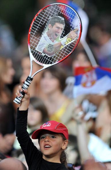 Новак Джокович приехал  на родину в Белград. Фото: Clive Brunskill/Getty Images