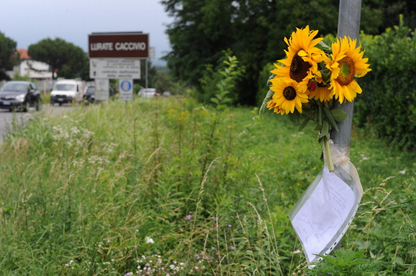 Фоторепортаж с места гибели австралийской велосипедистки  Карли Хибберд.  Фото: Handout/Jacopo Raule/Getty Images