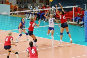 Сборная Росси по волейболу  за Кубок Ельцина сыграет с командой Китая.  Фото  с сайта  uralinform.ru