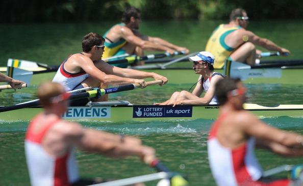 Фоторепортаж с соревнований по гребле Samsung World Rowing Cup III. Фото: Christopher Lee/Getty Images