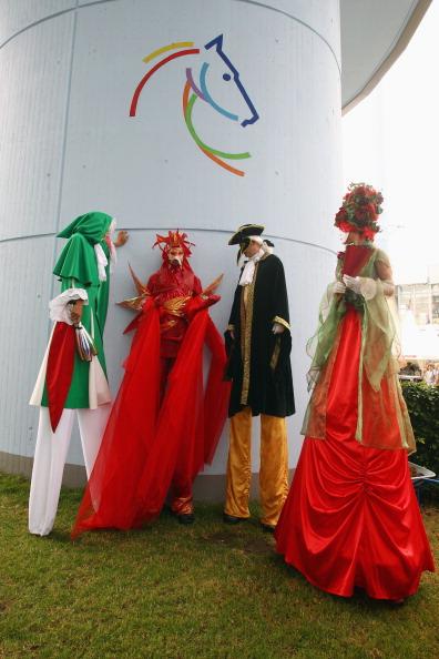 Владимир Кличко посетил церемонию открытия шоу конного спорта CHIO в Аахене. Фото: Alex Grimm/Bongarts/Getty Images