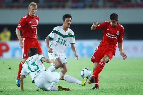 Фоторепортаж и видео с товарищеского матча Ливерпуль - Гуандун. Фото: Feng Li/Getty Images