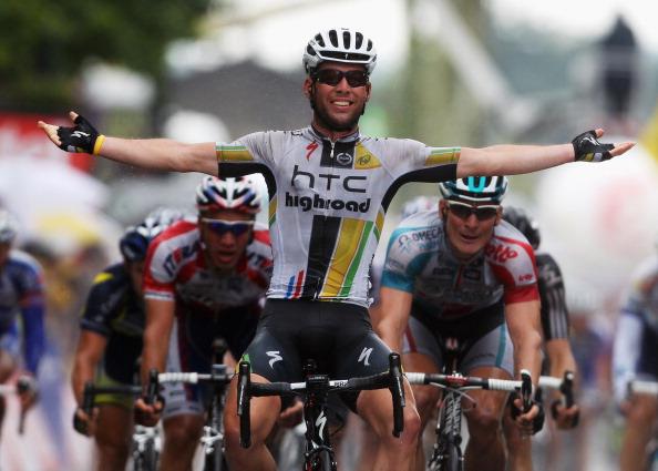 Одиннадцатый этап велогонки Tour de France выиграл британец Марк Кавендиш. Фоторепортаж с трассы. Фото: Michael Steele/ JOEL SAGET /PASCAL PAVANI/AFP/Getty Images