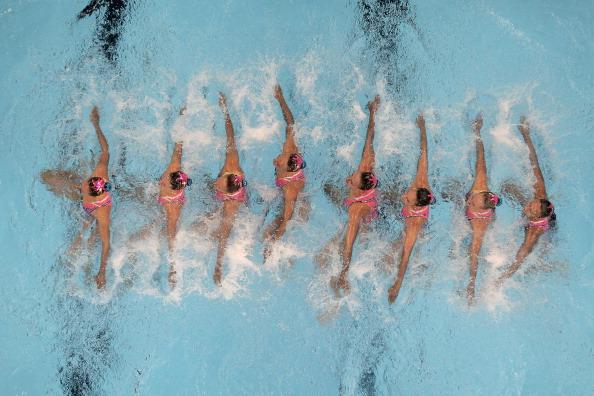 Синхронное плавание. Фоторепортаж с чемпионата мира FINA. Фото: Clive Rose /Adam Pretty/Getty Images