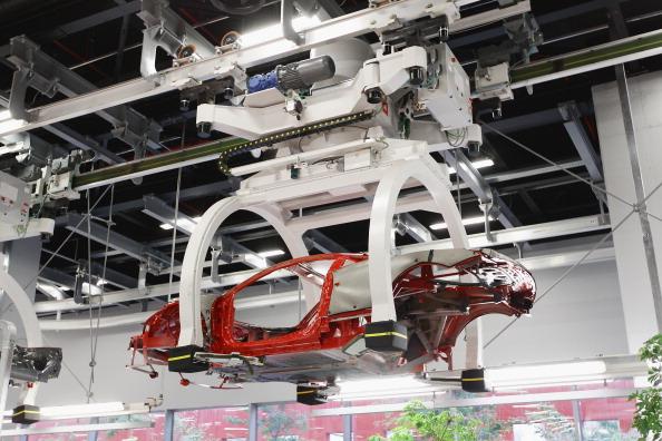 Фоторепортаж с завода Ferrari в Маранелло. Фото: Vittorio Zunino Celotto/Getty Images)