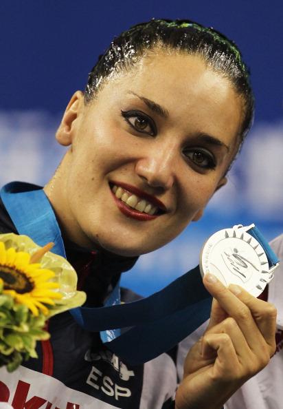 Серебряную медаль завоевала испанка Андреа Фуэнтес. Фото:  Ezra Shaw/Getty Images