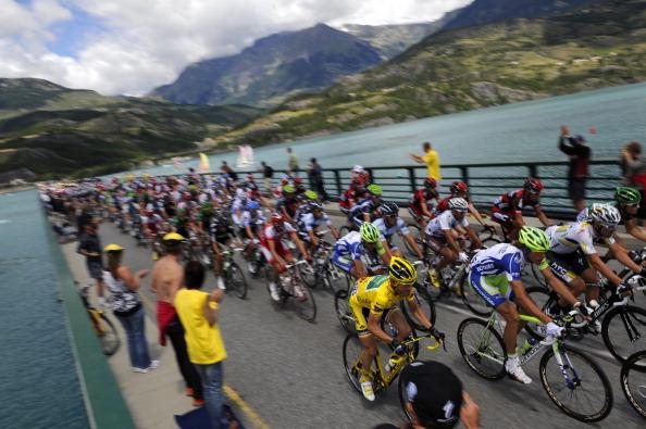 Семнадцатый этап велогонки Tour de France выиграл Эдвальд Боассон Хаген из Норвегии. Фоторепортаж с трассы. Фото: Michael Steele/ JOEL SAGET /PASCAL PAVANI/AFP/Getty Images