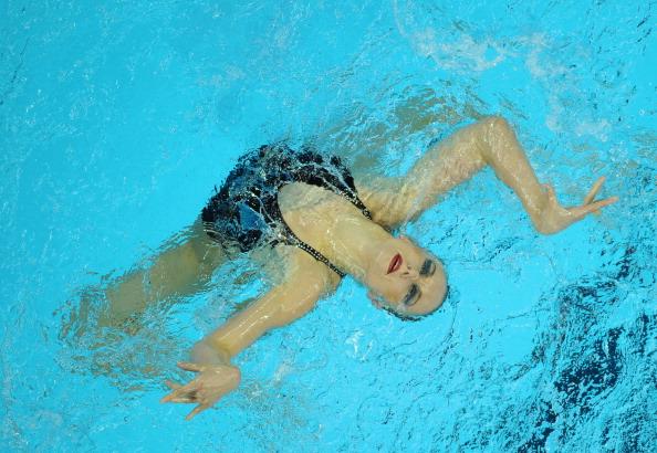 Наталья Ищенко  стала 13-кратной чемпионкой мира по синхронному плаванию. Фото:  Ezra Shaw/Getty Images