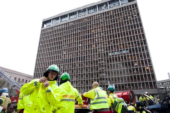 Теракты в Норвегии унесли жизни 87 человек. Фоторепортаж с места происшествий. Фото: Svein Gustav Wilhelmsen/ Marianne Lovland/HOLM MORTEN/AFP /AFP/Getty Images