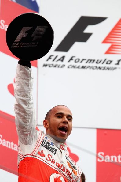 Гран-при Германии «Формулы-1» выиграл британец Льюис Хэмилтон. Фото: Mark Thompson/ Julian Finney/Clive Mason/Peter Fox/Getty Images