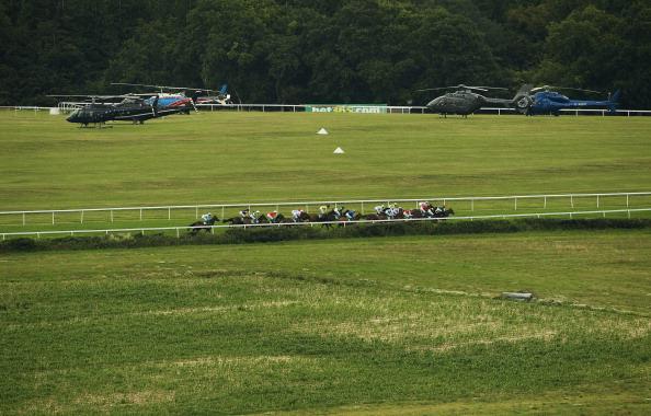 Фоторепортаж  с  ипподрома Goodwood. Фото: Alan Crowhurst/Getty Images