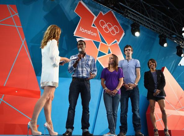 В Лондоне отметили год до начала Олимпийских игр Лондон-2012. Фото: Clive Mason /Ben Stansall - WPA Pool/Getty Images