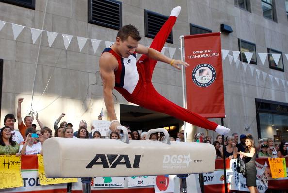 Шоу «Олимпийские надежды» за   год до начала Олимпийских игр прошло на телеканале NBC. Фото: by Mike Stobe/Getty Images
