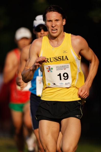 Илья Фролов среди других вышел в финал чемпионата Европы по пятиборью в Мидуэе. Фото: Harry Engels/Getty Images